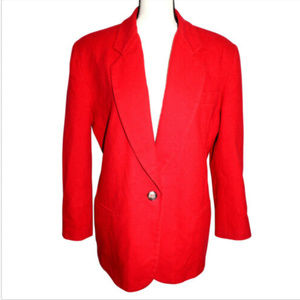 The Limited Womens L Wool Cashmere Blend Jacket